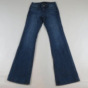 WHITE HOUSE BLACK MARKET Trouser Leg Jeans